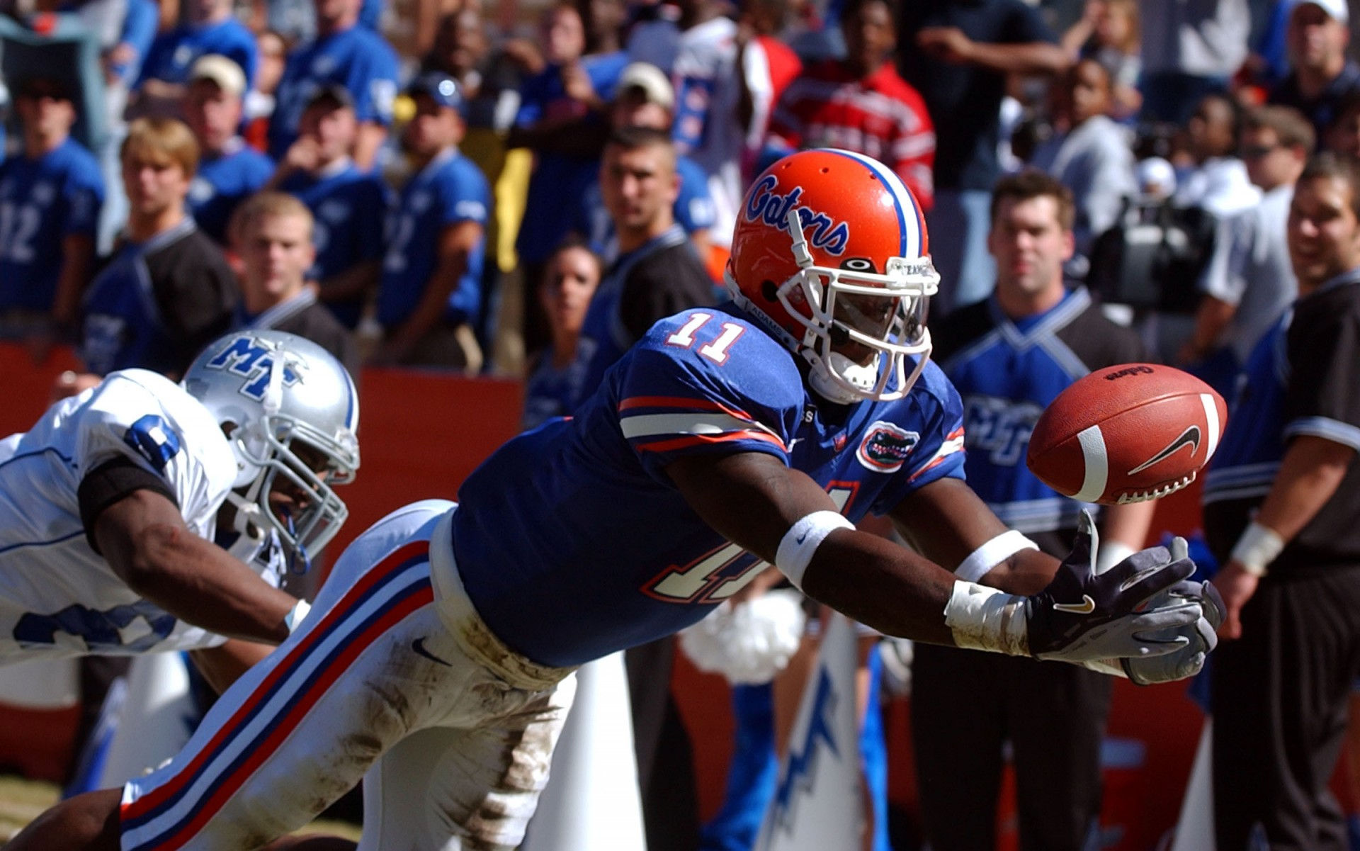 Gators battle Middle Tennessee in the Swamp